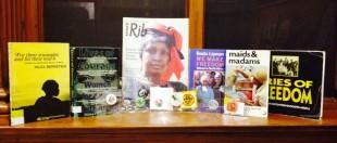 Anti-Apartheid campaign display at GWL