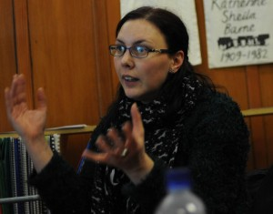 Gender and Sectarianism Training with volunteers