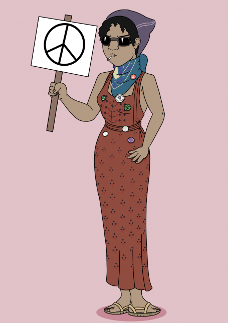 Peace Lady (Badges of Honour characters)