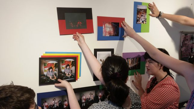 The Young Critics prepare their exhibition