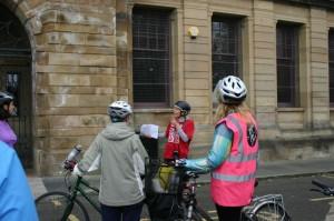 Landressy Street Bike Ride stop