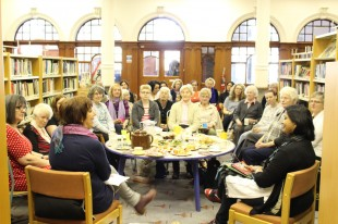 Poet, Salma, visits the Library for a special reading event.