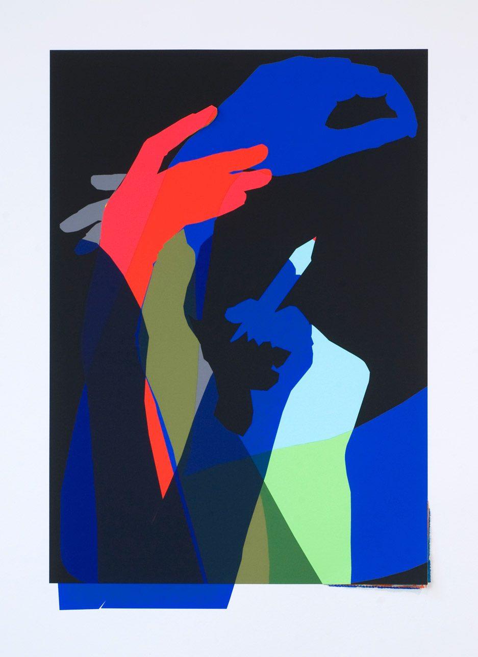 Corin Sworn, Arms!, 2012 (postcard)