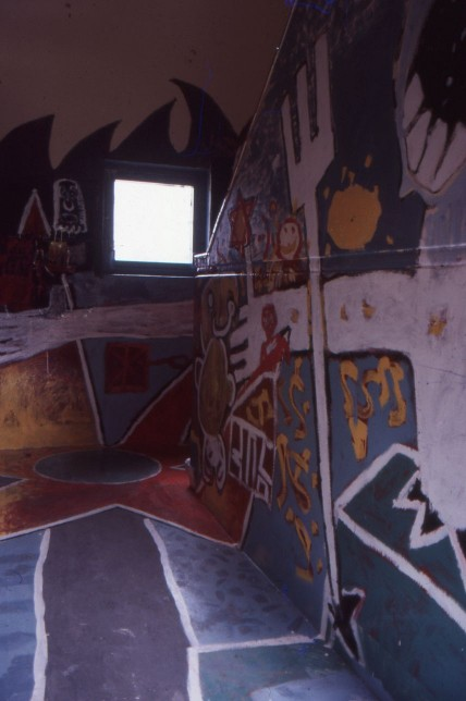Susan Steele (with Children from Castlemilk), Wall Painting, Castlemilk Womanhouse, 1990. Castlemilk Womanhouse collection, Glagsow Women's Library. © Glasgow Women's Library. (1 of 2)