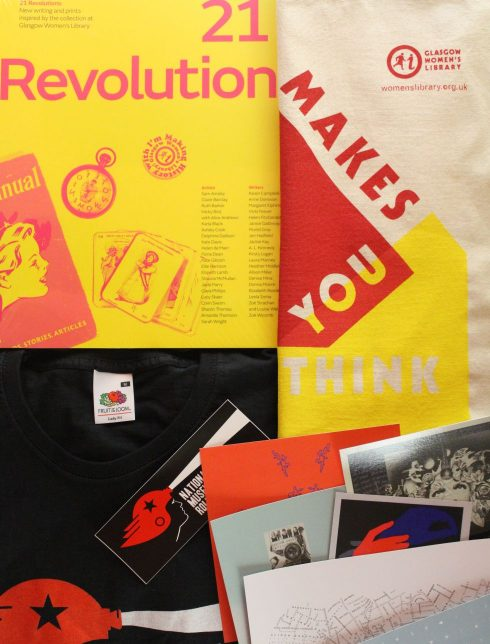 Art Lover's Christmas package #2: 21 Revolutions, Makes You Think tote bag, NMRD t-shirt and more!
