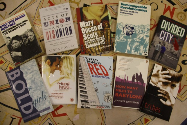A small selection from the Women and Sectarianism Resource