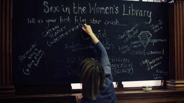 Sex in the Women's Library Film star crushes