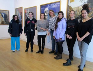 The Young Critics went to Street Level to see an exhibition of Maud Sulter's work.