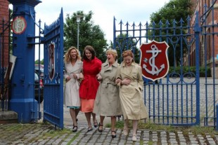 Mill Girls on Tour Image courtesy of Weaving Musical Threads