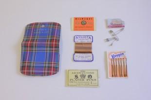 Emergency repair sewing kit, 1950s