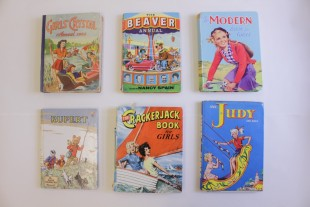 Selection of girls annuals, 1950s and 60s