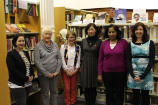 Winners and Judges from 2014's Dragon's Pen Writing Competition