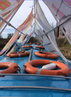 The Creative Cargo Barge