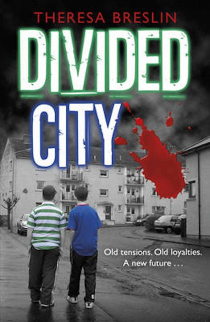 Cover of Divided City by Theresa Breslin