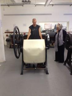 Showcasing printing at Glasgow Print Studios