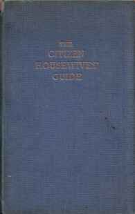 The Citizen Housewives' Guide cover
