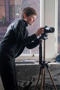 Young Critic Filming