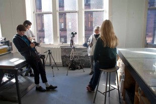 Young Critics interviewwing Ciara Phillips