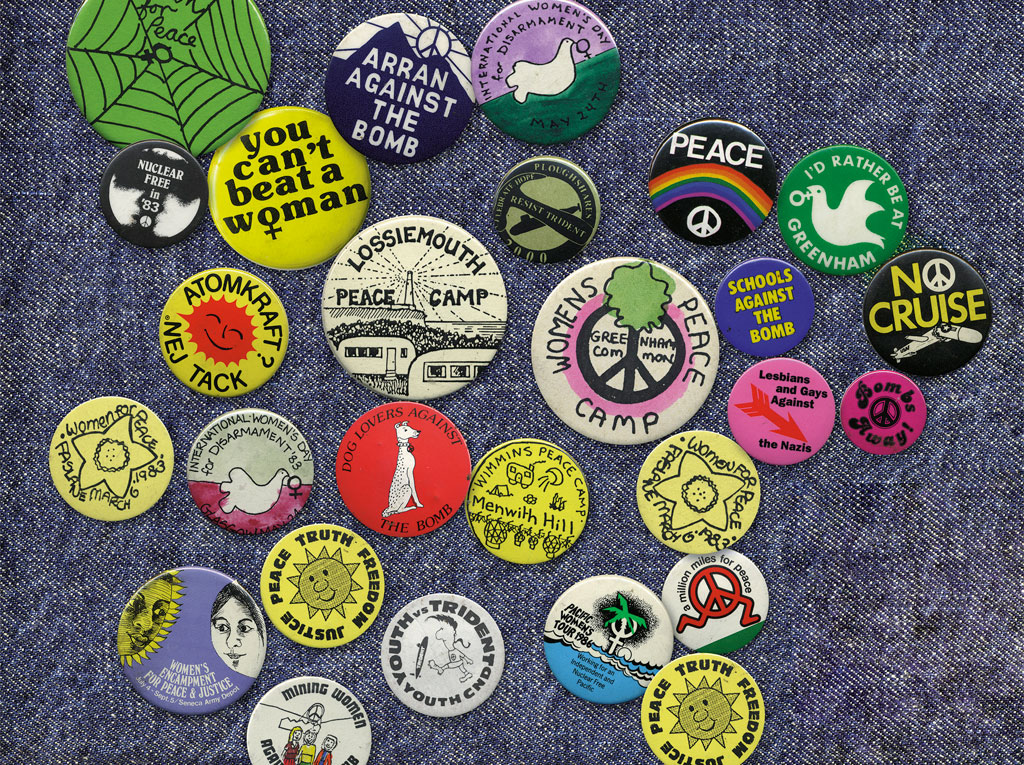 Badges from the GWL collection