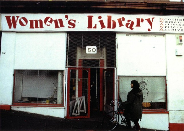 Glasgow Women's Library's first location on Hill Street