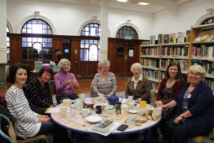 Story Cafe Group in the library