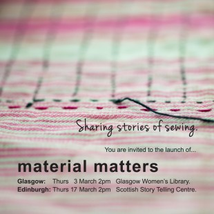 2cb4f1ae8b5f Exhibition  Material Matters – Sharing Stories of Sewing