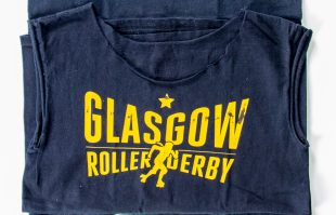 Glasgow Roller Derby t-shirts