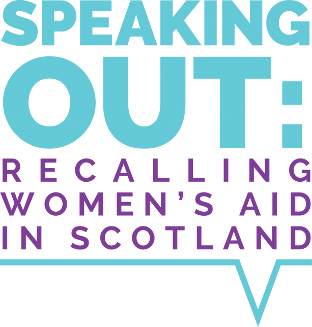 Speaking Out: Recalling Women's Aid in Scotland (logo)
