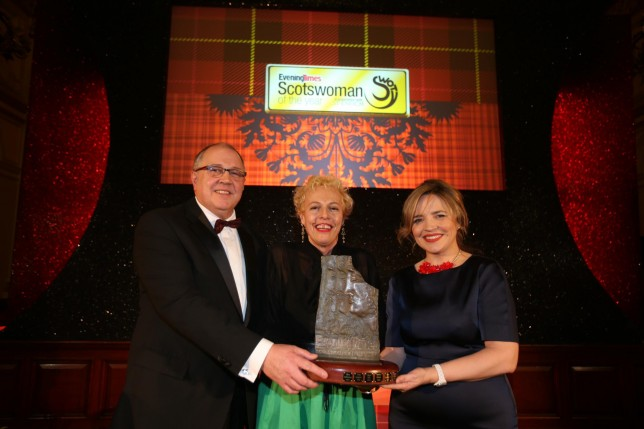 Adele Patrick named Scotswoman of the Year