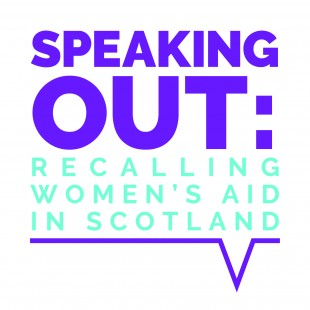 Speaking Out: Recalling Women's Aid in Scotland (logo)