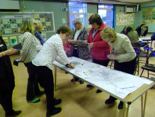 Mapping stories and histories of Milton of Campsie women
