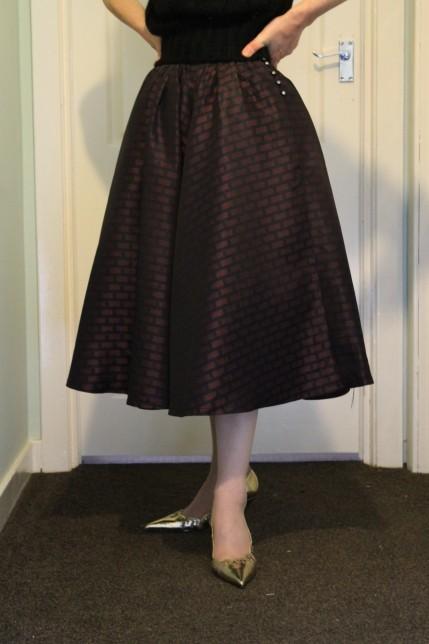 Dirndl skirt, 1950s