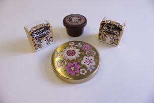Face powder, compact and bathcubes, 1960s