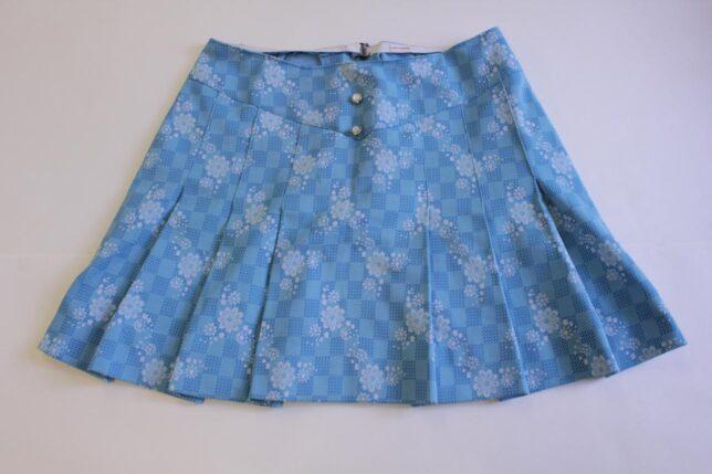 Homemade miniskirt, 1960s