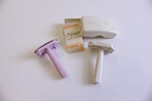 Ladies's compact razor, 1960s