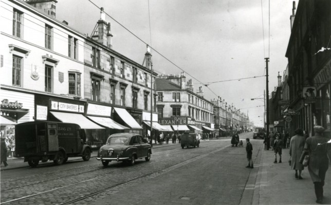 Glasgow Road, Early 1960s. Image Courtesy of West Dunbartonshire Council Archives