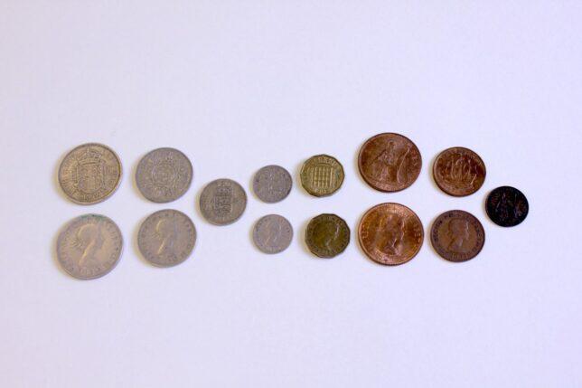 Pre-decimalisation coins