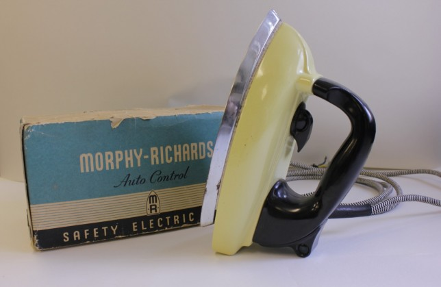 Safety Electric Iron, Morphy-Richards