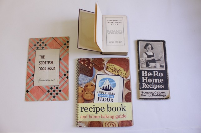 Selection of cookbooks, 1950s and 60s