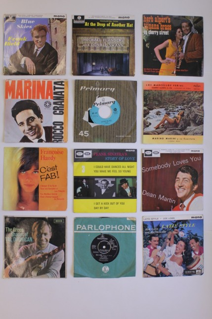 Selection of popular singles, 1960s
