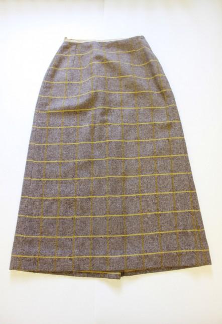 Tweed pencil skirt, 1954