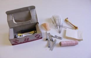 Various hair setting items