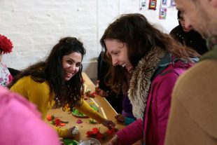 Paria – Glasgow based textile artist facilitating community based workshops