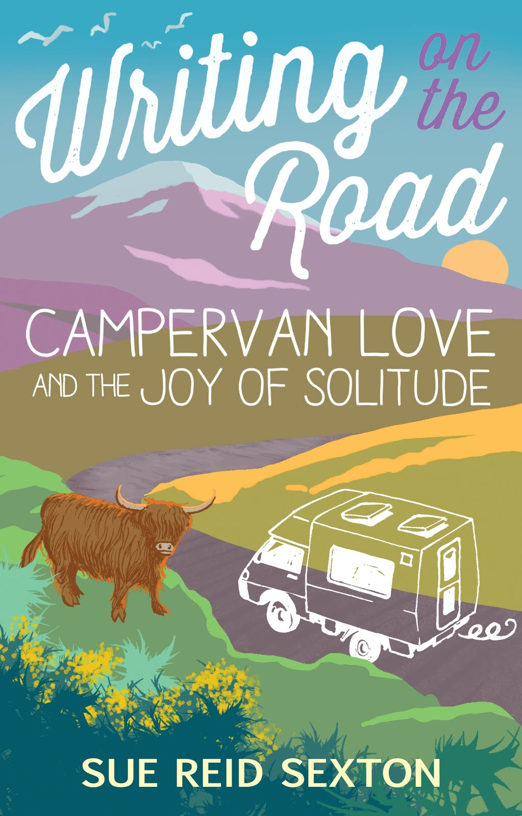 Writing on the Road, Sue Reid Sexton Courtesy Waverley Books