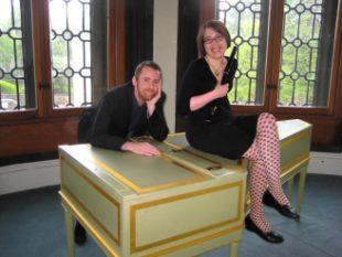 Flautist Elizabeth Ford and Harpsichordist Allan Wright
