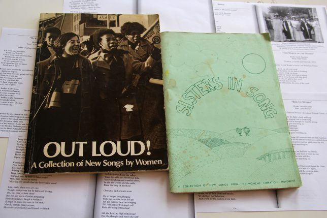 Books of women's songs from the GWL collection