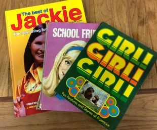 A small selection of girl's annuals from the archive