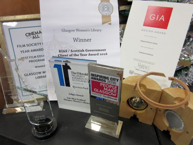 Some of GWL's awards, 2016