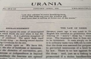 Urania, Issues 109 & 110, January-April, 1935