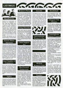 Harpies & Quines listings